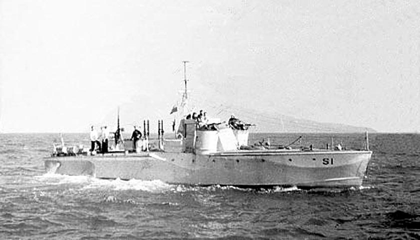 Морской охотник MGB S-2 «Wilczur»